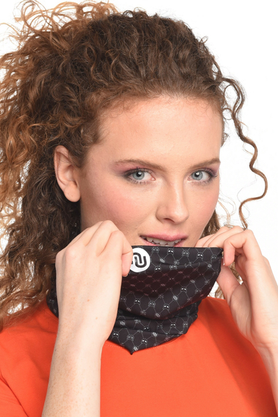 Summer Breathable Neck Warmer Galaxy Black - ABL-9G90