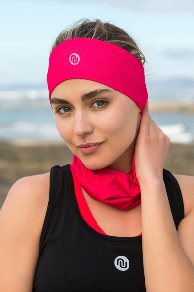 Summer Breathable Neck Warmer Mirage Pink - ABL-11X2