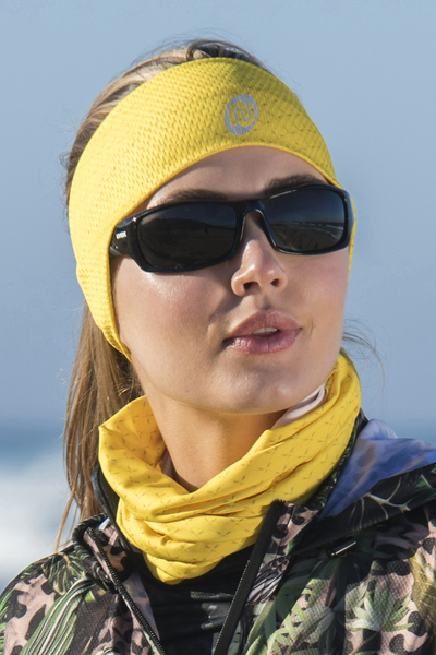 Summer Breathable Neck Warmer Mirage Yellow - ABL-11X1