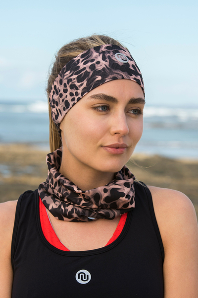 Summer Breathable Neck Warmer Sand Panther - ABL-11K8