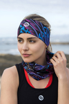 Summer Breathable Neck Warmer Selva Blue - ABL-11T3