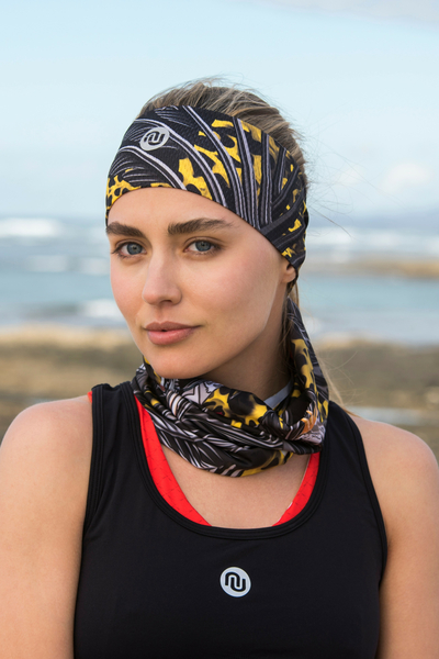 Summer Breathable Neck Warmer Selva Yellow - ABL-11T2