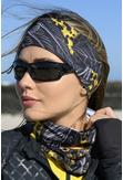 Summer Breathable Neck Warmer Selva Yellow - ABL-11T2 - packshot