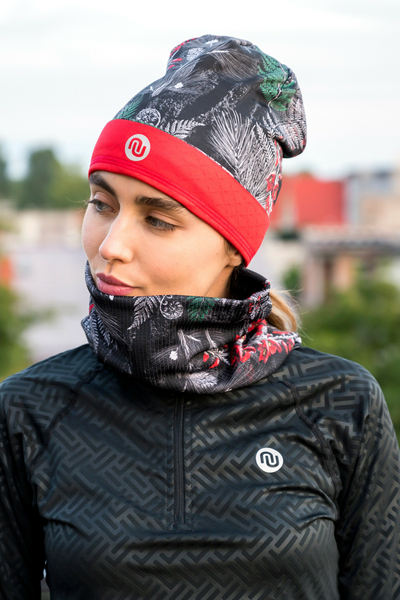 Snood Pine Red - AB2-12L2