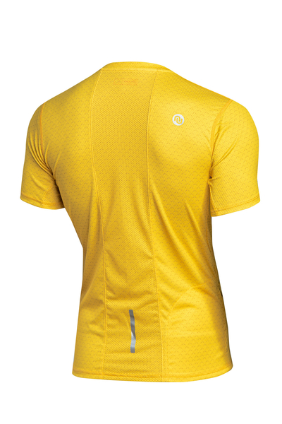 Funktionsshirt Zip Yellow Mirage - KMB-11X1