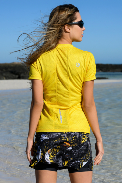 T-shirt Zip Yellow Mirage - KSB-11X1