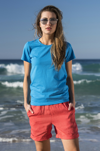 Ecocotton Blue T-shirt - ITC-50