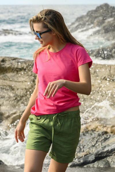 Ecocotton Pink T-shirt - ITC-30