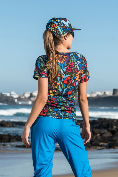 T-shirt Mosaic Flora - TSF-11M4