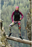 Running Leggings with a belt 4K UltraHD Black Forest - OSLP-10L2 - packshot