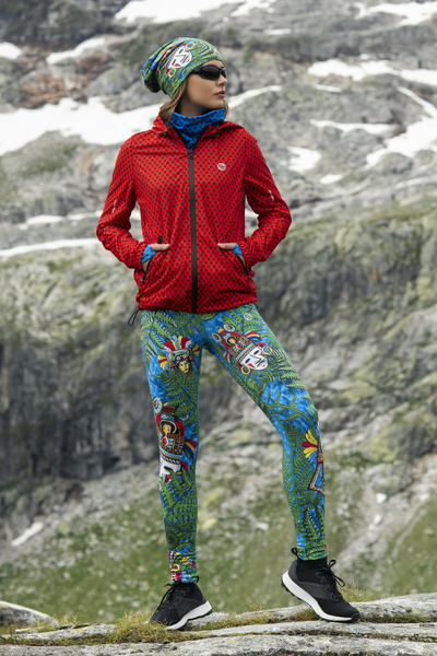 Running Leggings with a belt 4K UltraHD Colour Mask - OSLP-10VM1