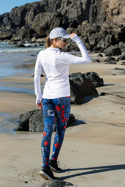 Running Leggings with a belt 4K UltraHD Mosaic Gaja - OSLP-11M5