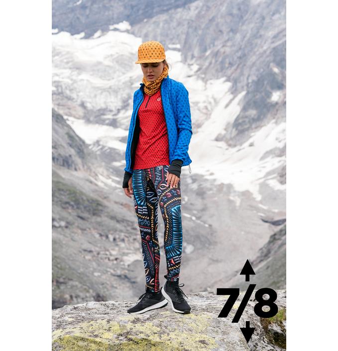 Warm leggings 7/8 Aztec 3D - OLOV7-10A2 - packshot