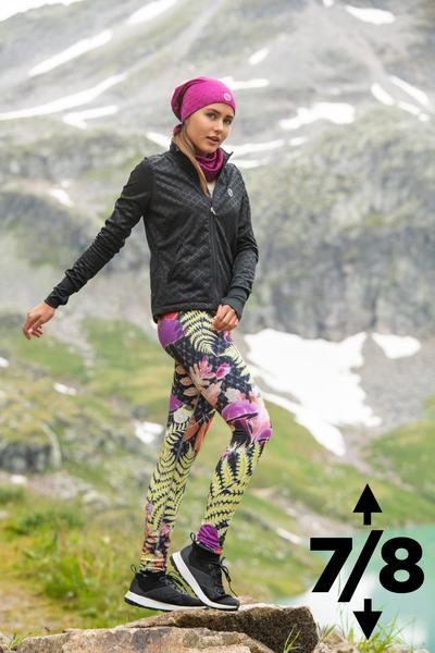 Warm leggings 7/8 Black Forest - OLOV7-10L2