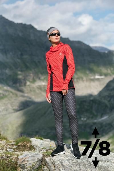 Warm leggings 7/8 Galaxy Black - OLOV7-9G90