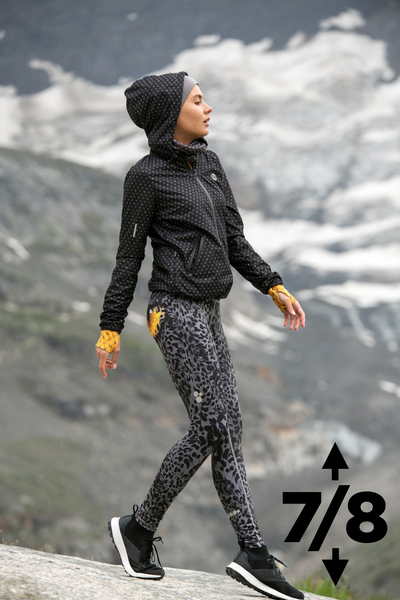 Leggings mit Multifunktions-Bund Grey Panther - OSLP7-10K4