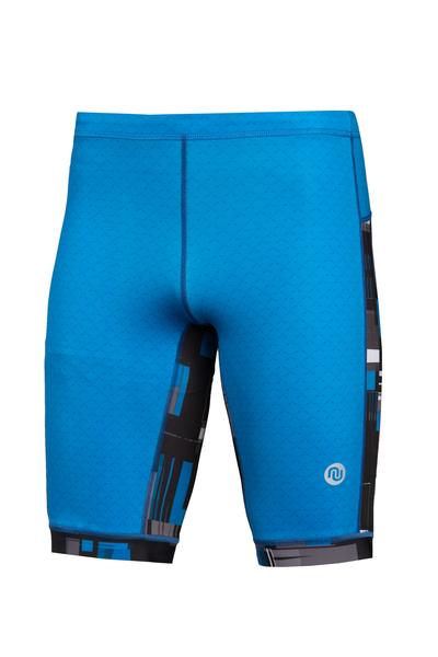 Leggings Short 4K UltraHD Mirage Blue - OLKT-11X7-11S3