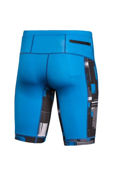 Leggings Short 4K Ultra HD Blue Mirage - OLKT-11X7-11S3