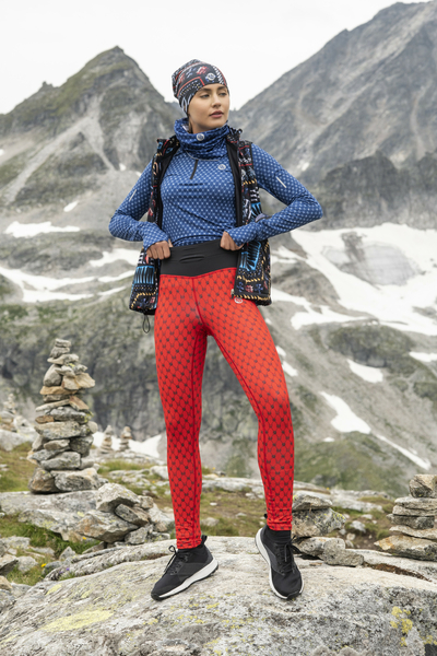 Premium Running Leggings with a belt 4K UltraHD - OSLP-9G4D