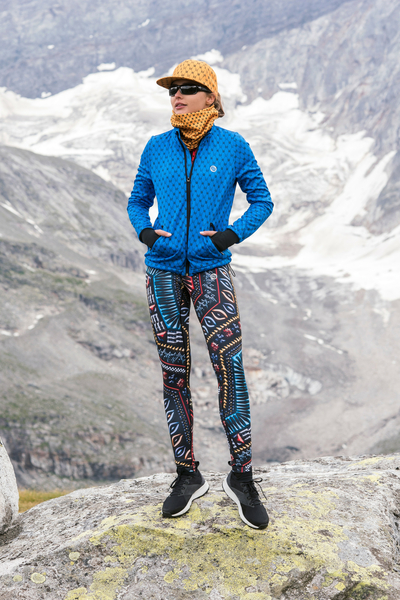 Running Leggings with a belt - OSLP-10A2