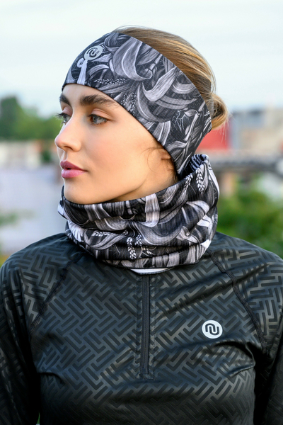 Headband Thermoactive Black Corn - AON-12C9