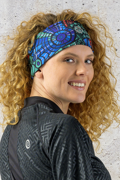 Headband Thermoactive Mosaic Lumo - AON-12M4