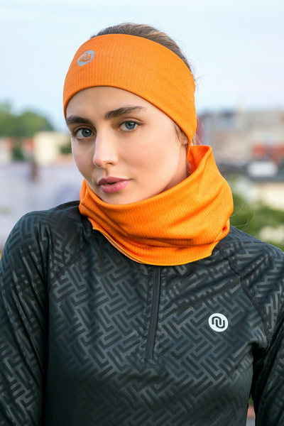 Headband Thermoactive Orange Mirage - AON-11X3