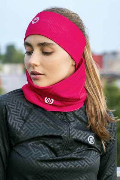 Headband Thermoactive Pink Mirage - AON-11X2