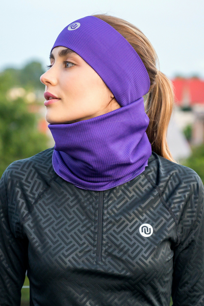Headband Thermoactive Purple - AON-60F