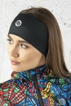 Headband Thermoactive Total Black - AON-90
