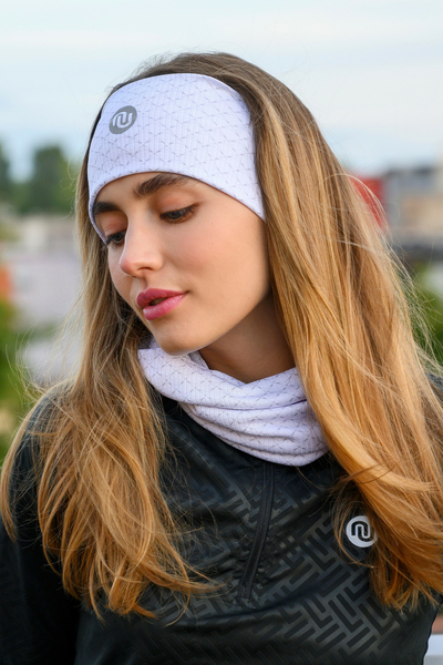 Headband Thermoactive White Mirage - AON-11X0