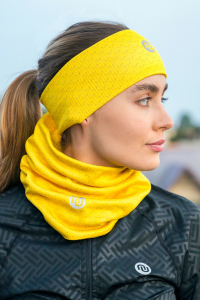 Headband Thermoactive Yellow Mirage - AON-11X1