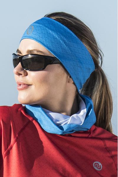 Ultra Headband Blue Mirage - AOL-11X7
