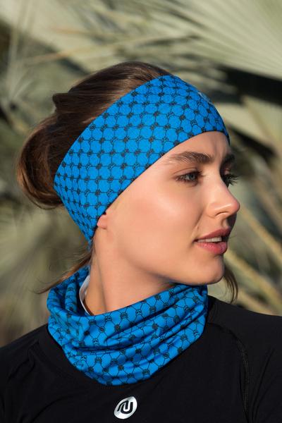 Stirnband Ultra Galaxy Blue - AOL-9G7
