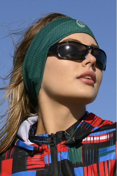 Ultra Headband Green Mirage - AOL-11X5