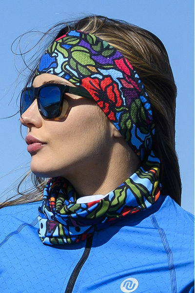 Stirnband Ultra Mosaic Flora - AOL-11M4