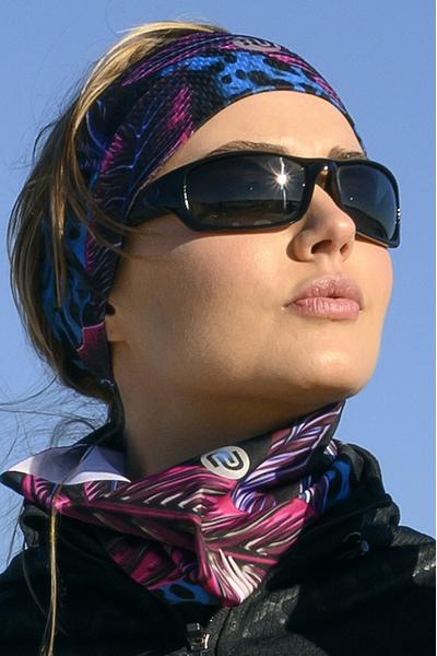 Stirnband Ultra Selva Blue - AOL-11T3