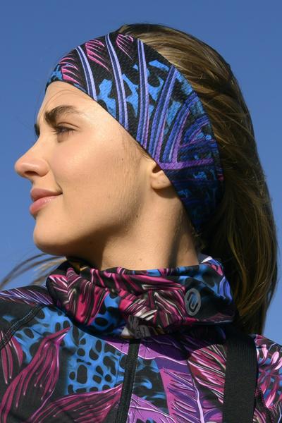 Ultra Headband Selva Blue - AOL-11T3
