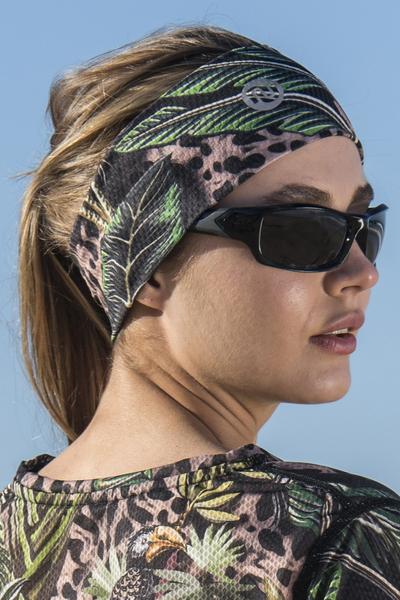 Ultra Headband Selva Sand - AOL-11T1