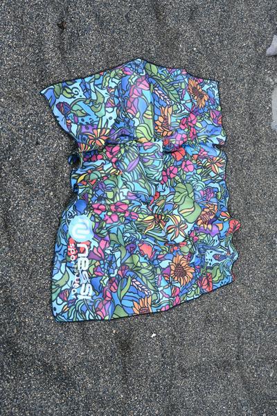 Ręcznik z Mikrofibry Mosaic Flora - ARE-11M4 S