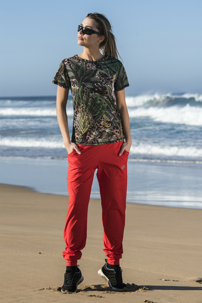 Light Sweatpants Mirage Red - SDDC-11X4