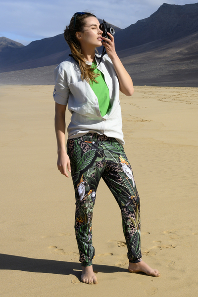 Light Sweatpants Selva Sand - SDDC-11T1