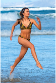Swimsuit Yellow Panther - SJ2F-11K7 - packshot