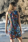 Summer Dress Mosaic Flora - OSS1-11M4