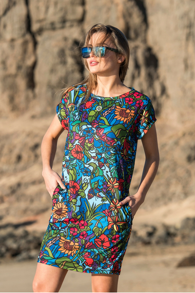 Summer Dress Mosaic Flora - OSS2-11M4
