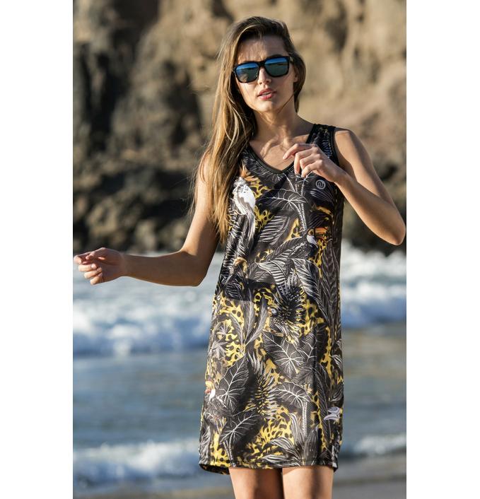 Summer Dress Selva Yellow - OSS1-11T2 - packshot