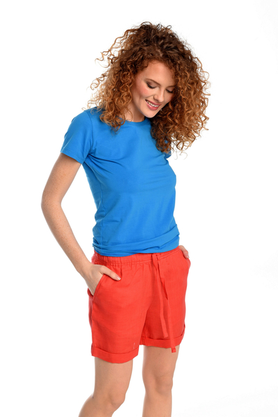 Linen shorts Bajo Red - ILB-20