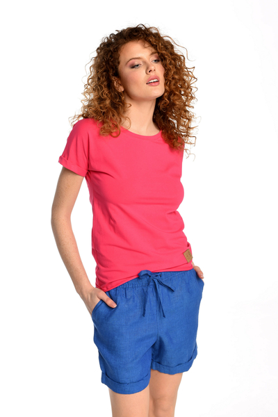 Linen Shorts Bajo Blue - ILB-50