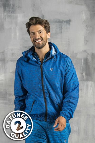 Windbreaker Men Cobalt Melange II Quality - KWM-511-G2