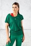 Bat T-shirt Green Mirage - OTD-11X5